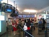 キャナルシティ博多4階の映画館内