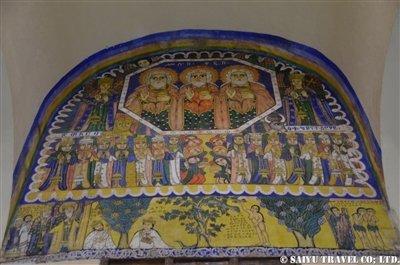 ■古いシオンの聖マリア教会内部の壁画 (1)