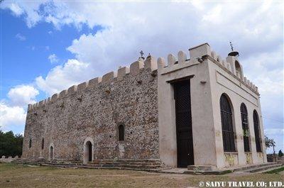 ■古いシオンの聖マリア教会外観