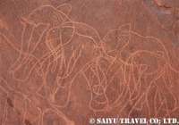 ゾウの刻画