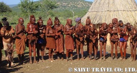 ヒンバ族の女性達