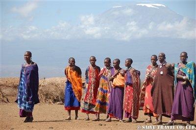 アンボセリ マサイ族の女性達