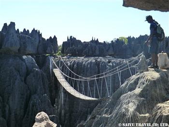 大ツィンギー第2展望台吊り橋