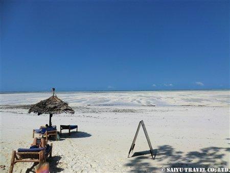 ザンジバル・パジェの海岸