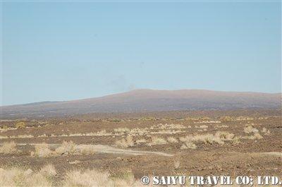 エルタアレ火山 遠景