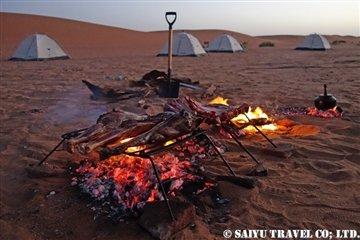 チャドの砂漠で乾杯 (4)