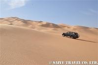 大砂丘の中へ
