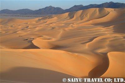 雄大なアラカウの大砂丘
