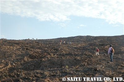 エルタアレ火山登頂その3