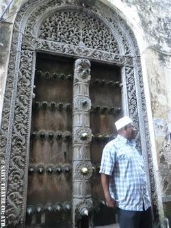 ザンジバル・ドア(インド風2)