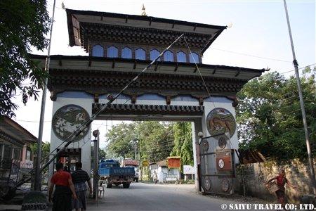 サムドゥプジョンカル側国境門 (1)