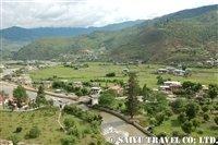 パロ谷の眺望