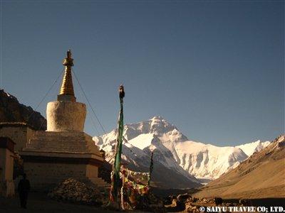 世界最高所のゴンパ(僧院)より撮影