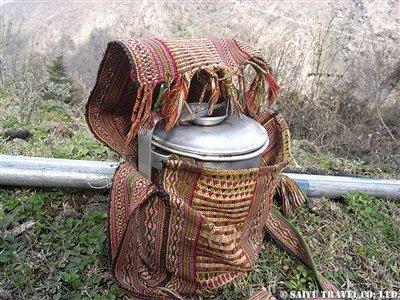 モンパの鞄とお弁当