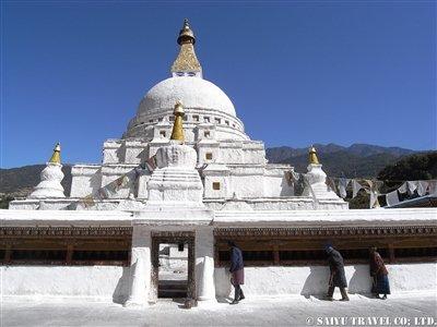東ブータンのチョルテンコラ