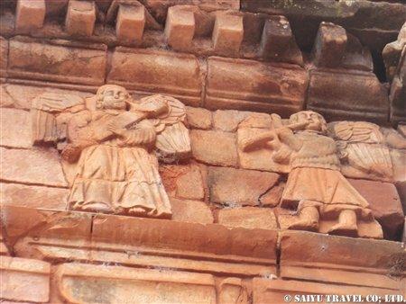 トリニダー遺跡大聖堂 天使の彫刻