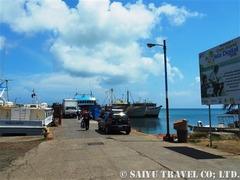 コーン島の桟橋