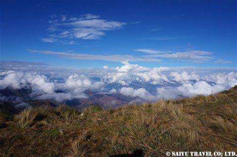 北部ペルーのアンデス越え