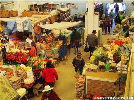 ウユニのマーケット