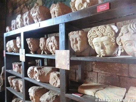 トリニダー遺跡 ミニ博物館内