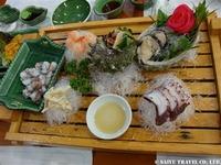 韓国海鮮刺身料理