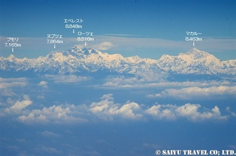 TG319便から見るヒマラヤ (4)