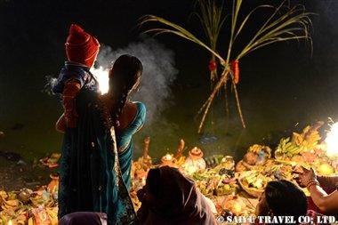 ジャナクプルのチャットパルワ ガンガサガルの朝 (2)