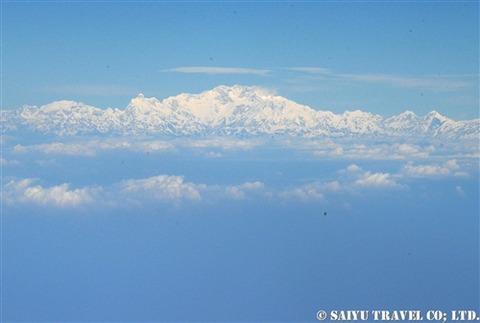TG319便から見るヒマラヤ (1)