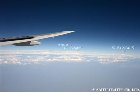 TG319便から見るヒマラヤ (5)