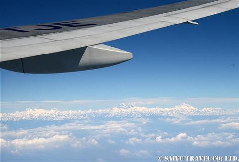 TG319便から見るヒマラヤ (3)