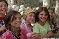 タジク族の子供達