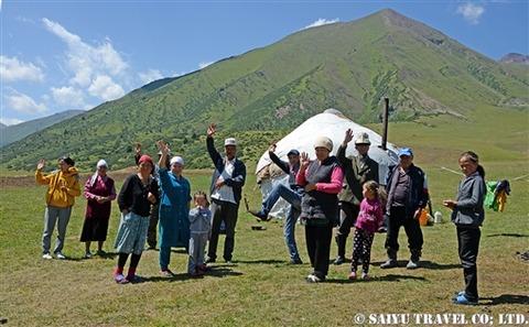 キルギス カルカラ谷 西遊旅行 (6)