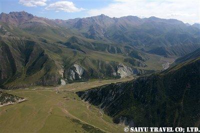 キルギス天山ヘリフライト 西遊旅行 (1)