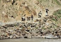行き交うアフガニスタンの人々