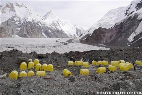 南イニルチェク氷河BC 西遊旅行