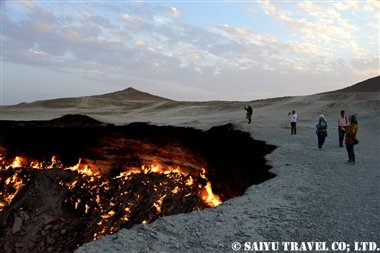 トルクメニスタン 地獄の門 (1)