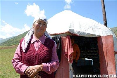 キルギス カルカラ谷 西遊旅行 (4)