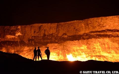 トルクメニスタン 地獄の門 (6)