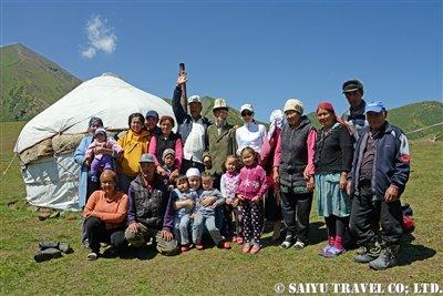 キルギス カルカラ谷 西遊旅行 (3)