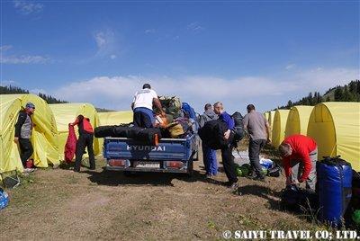 キルギス天山ヘリフライト 西遊旅行 (12)