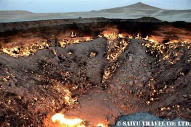 トルクメニスタン 地獄の門 (2)
