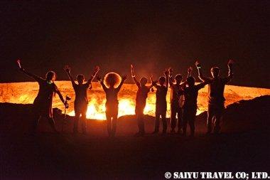 トルクメニスタン 地獄の門 (3)