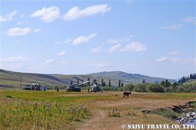 キルギス カルカラ谷 西遊旅行 (7)