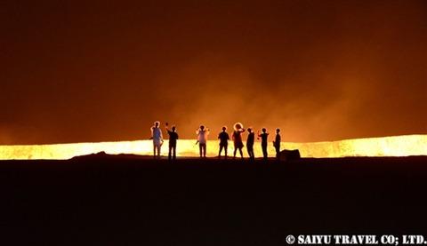 トルクメニスタン 地獄の門 (4)