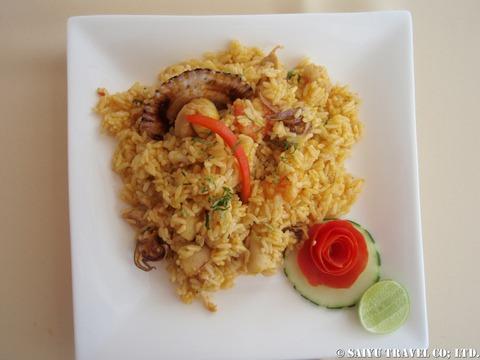 アロス コン マリスコス海鮮炊き込みご飯
