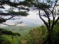 音羽山から石山方面view真ん中が伽藍山その裏にあたしん家