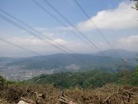 音羽山から比叡山・京都方面view
