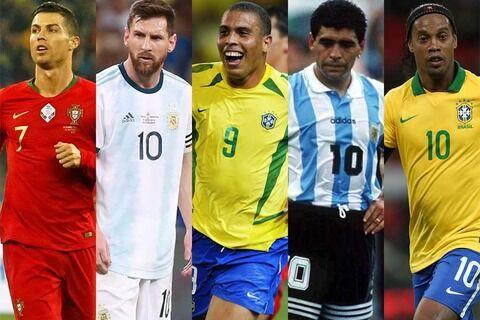 """【海外サッカー】""""歴代最高""""決定のファン投票、C・ロナウドが頂点に スペイン紙の企画でメッシに競り勝つ"""