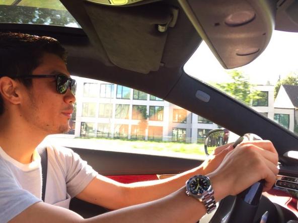 【画像】ドルトムント香川真司、連戦前にドライブでリフレッシュ!