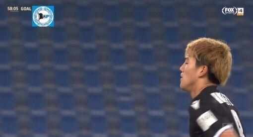【海外の反応】「契約しろ」堂安律、バイエルンからゴール!バイエルンサポも思わず称賛!